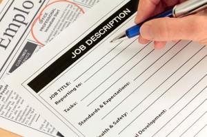 Creating a job post description