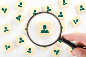 Review social media accounts when hiring