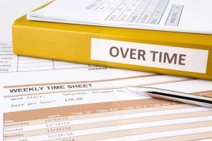 Weekly Time Sheet and Overtime Binder