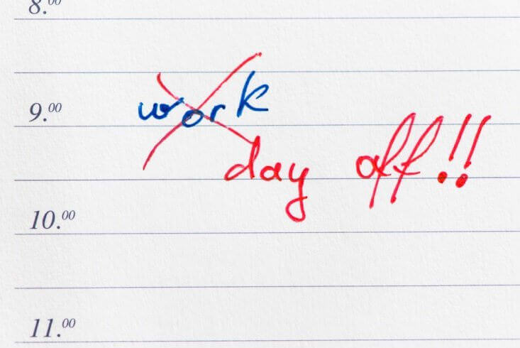 Best employees want days off